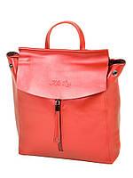 Рюкзак женский кожаный 3206  bright-red.Купить женский кожаный рюкзак  , фото 1