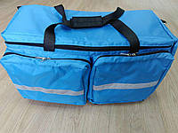 Сумка для врачей 9102. Медицинская сумка – укладка, сумки холодильники. Сумка скорой помощи пошив под заказ., фото 1