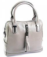 Женская кожаная сумка 586 Gray купить кожаную женскую сумку, фото 1