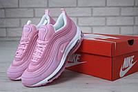 Кроссовки женские Nike Air Max 97 в стиле Найк Аир Макс 97, розовые