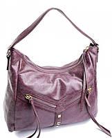 Женская кожаная сумка 6071DZ Purple купить кожаную женскую сумку, фото 1