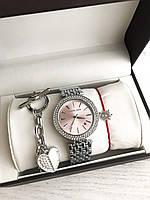 Подарочные наборы женские часы Michael kors браслет коробочка