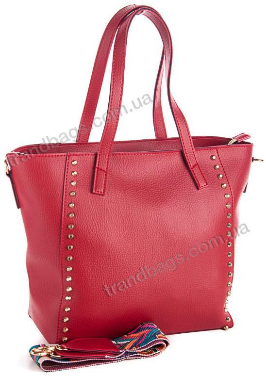 c0ffb55b5328 Женская сумка WeLassie 54302 красный женские сумки оптом и в розницу в Одессе  км
