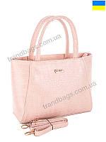 Женская сумка WeLassie 55605 pink женские сумки оптом и в розницу в Одессе км, фото 1