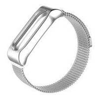 Ремешок металлический MiJobs Milanese для Xiaomi Mi Band 2 Silver , фото 1