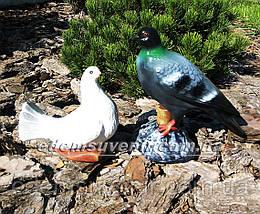 Садовая фигура Голубь и Голубка, фото 2