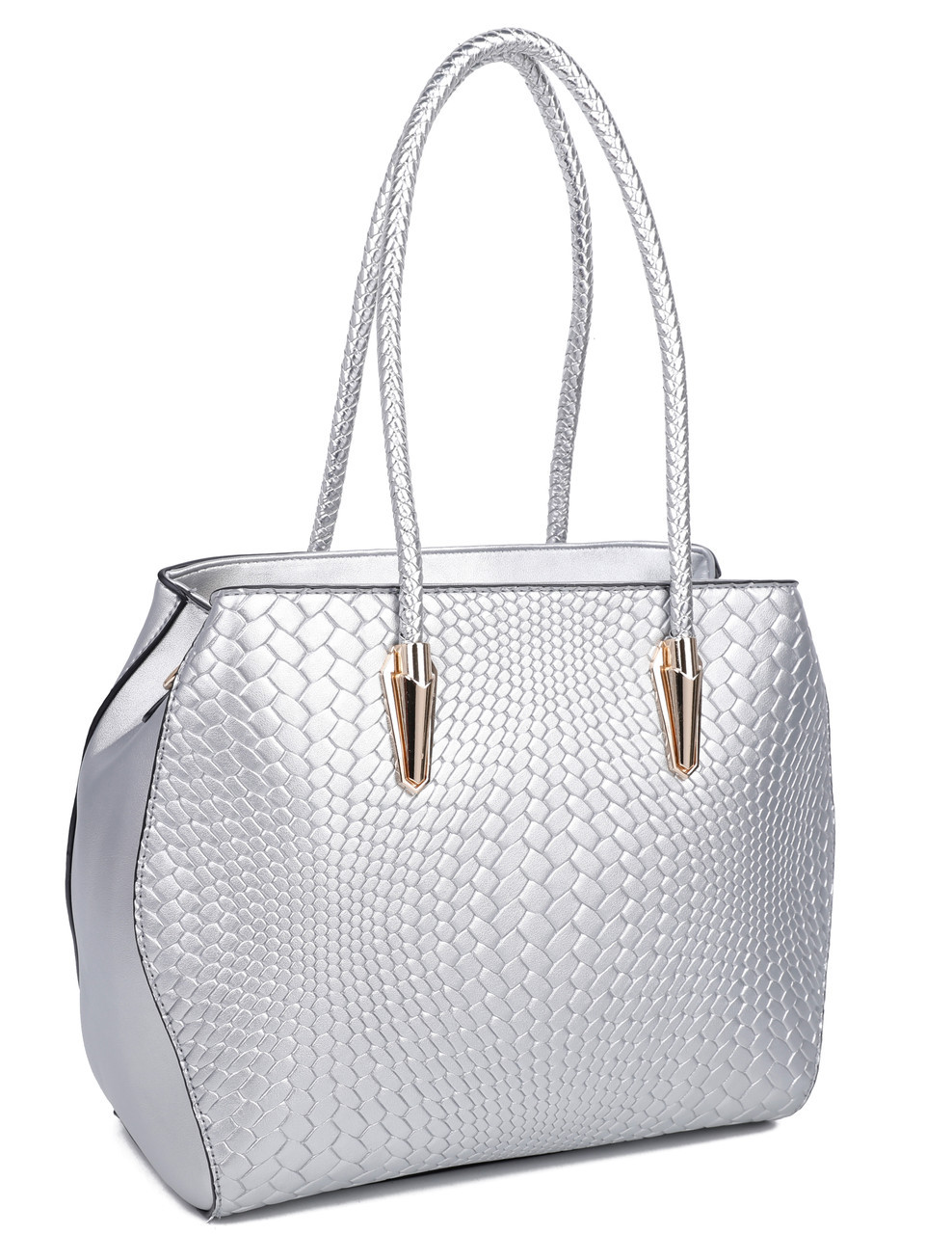 aa8db8115ab1 Купить Женская сумка 1202 Silver купить сумку женскую недорого ...