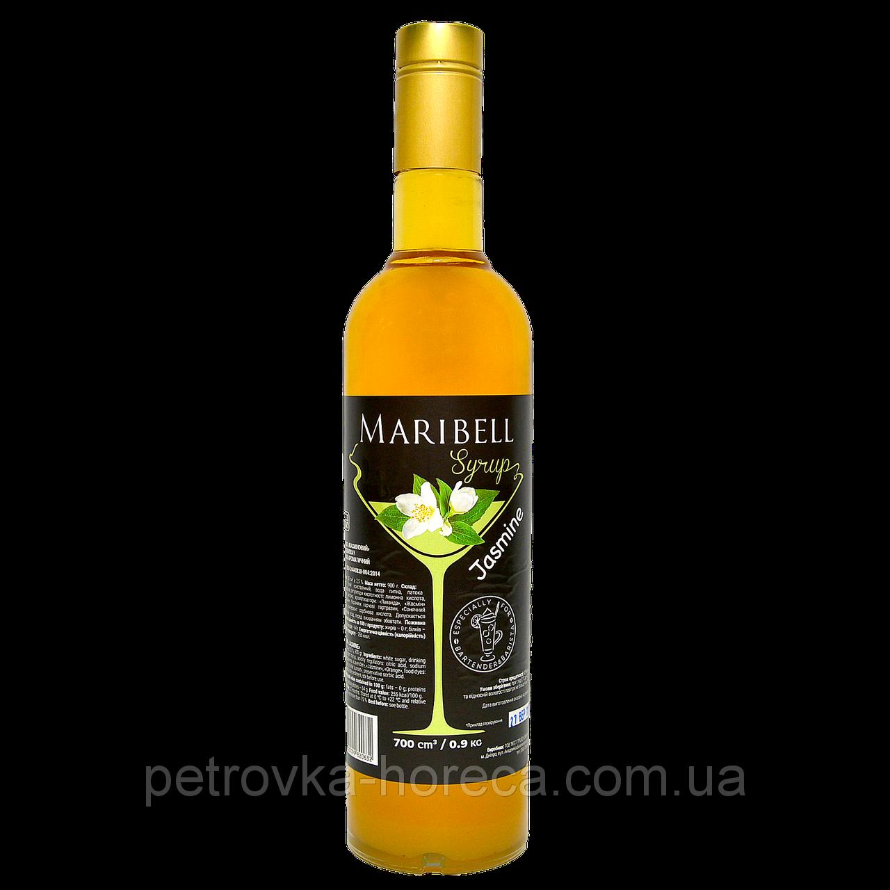 """Сироп коктейльный Maribell """"Жасмин"""" 700мл"""