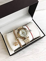 Подарочные наборы Женские часы Pandora браслет коробочка , Реплика