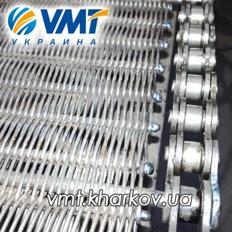 Сетка транспортерная для пеллет, топливных гранул, топливных брикетов