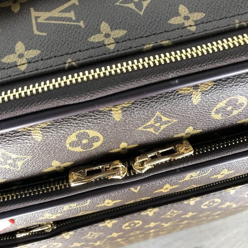 9ca4c59a8e4b ... Дорожный чемодан Louis Vuitton Rolling Luggage Pegase Legere 55  Monogram (реплика), ...