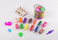 Тесто для лепки 12 цветов Данко TMD-01-03