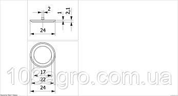 Мембрана відсікача 087 PROLINE 0-104/087PRO, фото 2