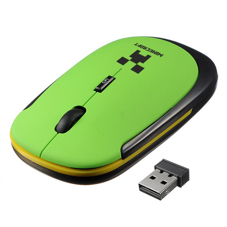 Комп'ютерна безпровідна мишка Minecraft