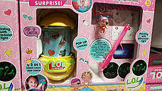 Набор рисуй светом Кукла L.O.L. BB 87, ЛОЛ и фонарик-ночник с ручкой, фото 3