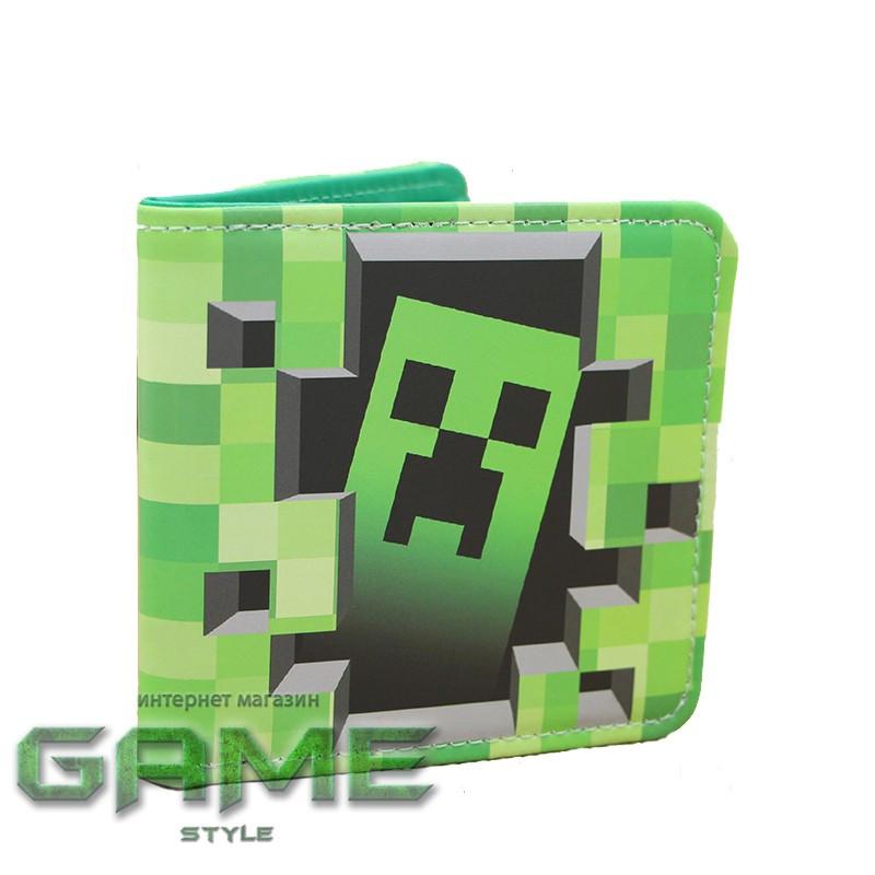 Гаманець гаманець Creeper Майнкрафт (Minecraft)