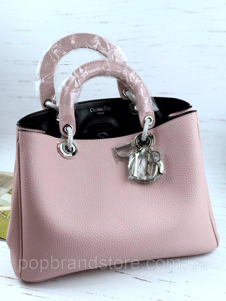 4800fc42c0db Женская кожаная сумка DIOR Diorissimo lux (реплика): продажа, цена в ...