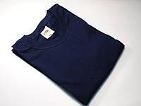Классическая мужская футболка 61-036-0 S, Глубоко тёмно-синий