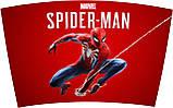 Термокружка для напитков Spider-Man Red 450 мл нержавеюшая сталь, фото 2