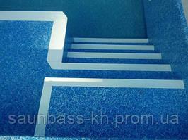 Бассейн скимерный с римской лестницей и детской зоной