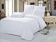 Двуспальный комплект постельного белья Белый