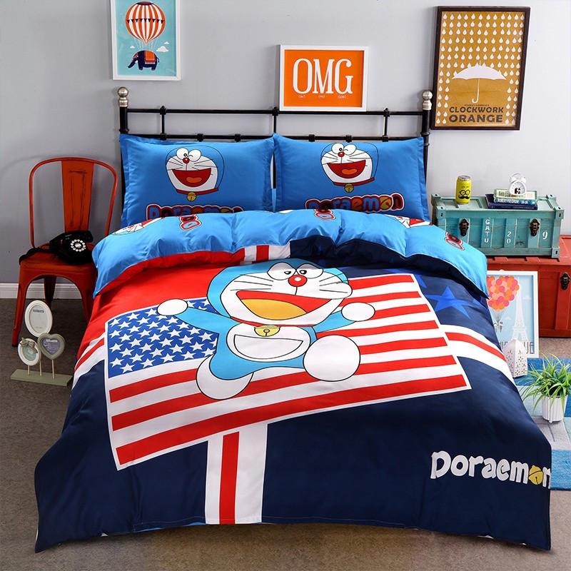 """Детское постельное белье """"Doraemon America"""" большое"""
