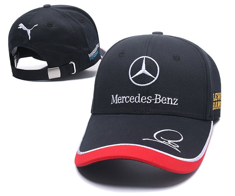 "Кепка бейсболка ""Mersedes-Benz від Puma"" чорна"