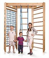 Акция! Угловая деревянная шведская Спортивная стенка для детей «Sport 4-240» SportBaby