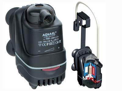 Внутренний фильтр Aquael FAN Micro до 30л.