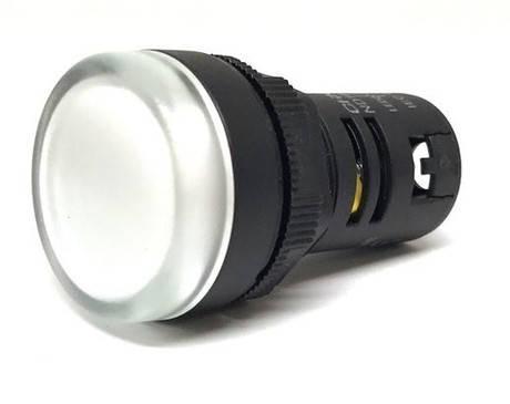 Индикатор ND16-22D/2 AC/DC220В белый (CHINT) 593165, фото 2