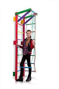 Акція! Дерев'яна шведська стінка Спортивний куточок Спортбейби тінейджер Teenager-2-220 (barby) SportBaby