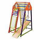 Акция! Деревянный Детский спортивный комплекс BambinoWood Color Plus SportBaby, фото 3
