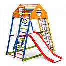 Акция! Деревянный Детский спортивный комплекс с горкой Спортбейби KindWood Color Plus 2 SportBaby, фото 6