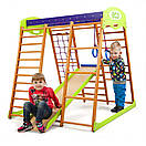 Акция! Деревянный Детский спортивный комплекс для квартиры для малышей «Карамелька мини» Спортбейби SportBaby, фото 3