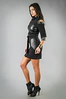 Стильное платье с оригинальным воротником, фото 1