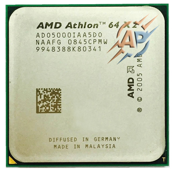 Процессор AMD Athlon 64 X2 5000+ (2600MHz, сокет AM2) ADO5000IAA5DU / ADO5000IAA5DO