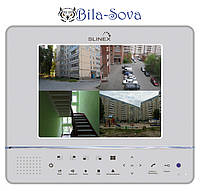 "Видеодомофон + DVR цветной GL-08N HDD, TFT LCD 8"", Internet, Slinex"