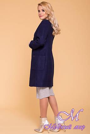 Стильное кашемировое пальто весна осень (р. S, M, L) арт. Кристина 6170 - 41047, фото 2