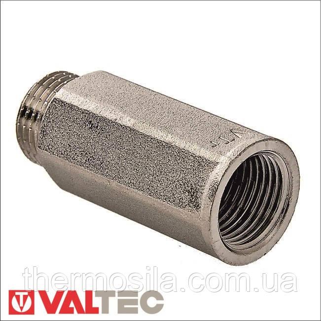 VTr.197.N Удлинитель VALTEC, никель, 1/2х50мм, опт и розница