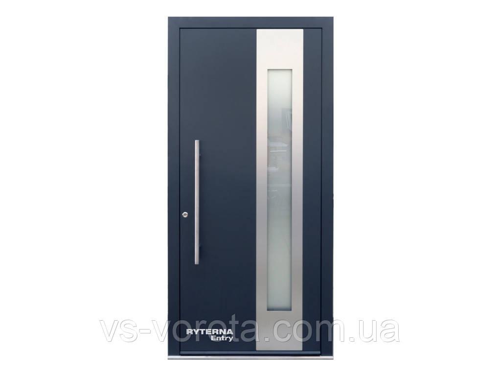 Входные уличные двери для дома Ryterna RD80 (Литва) - Дизайн 246