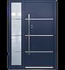 Входные уличные двери для дома Ryterna RD80 (Литва) - Дизайн 264, фото 4