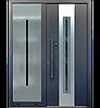 Входные уличные двери для дома Ryterna RD80 (Литва) - Дизайн 264, фото 6