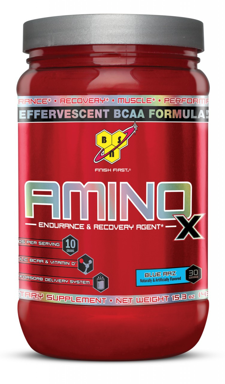 Аминокислоты BSN - Amino X (435 грамм)  grape/виноград