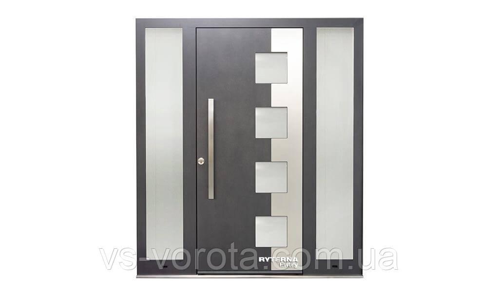 Входные уличные двери для дома Ryterna RD80 (Литва) - Дизайн 264