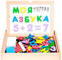 Набор Школьник 2 (доска и маркер), Мир деревянных игрушек (Д438)