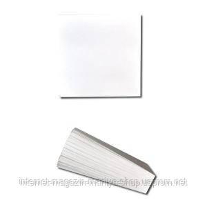 Блок 200 л. 8×8 белый офсет «Коленкор»