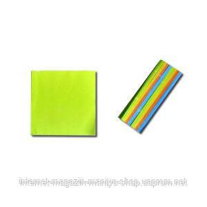 Блок цветной 200 л. 8×8 «Коленкор»