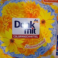 Порошок  для стирки цветных и сильно загрязненных вещей Denkmit Colorwaschmittel 65 стирок