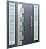 Входные уличные двери для дома Ryterna RD80 (Литва) - Дизайн 241, фото 5