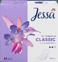 Ежедневные гигиенические прокладки Jessa Classic Normal-2 капли, 55 шт., фото 1